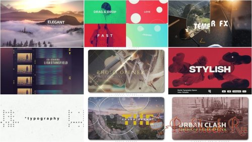 VideoHivePack - 858 (After Effects Projects Pack) - [Opener]
