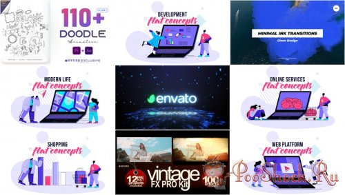 VideoHivePack - 864 (After Effects Projects Pack)