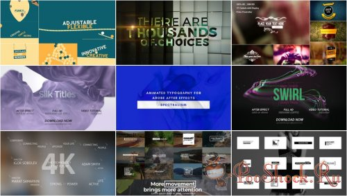 VideoHivePack - 865 (After Effects Projects Pack) - [Titles]